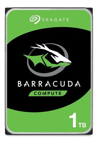 Disco Duro Interno Seagate 1tb Barracuda 3.5  7200rpm Sata3