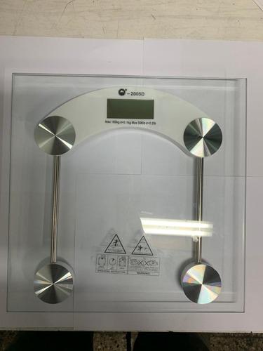 Balanza Digital Personal Scale Vidrio Max 180kg