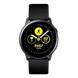 Samsung Galaxy Watch Active (bluetooth) 1.1  Caja 40mm De  Aluminio Malla De  Fluoroelastómero Y Bisel  Black Sm-r500