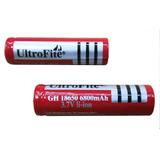 Pila Batería Recargable 18650 7800 Mah 3.7v Para Linterna