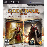 God Of War Chains Of Olympus + Ghost Of Sparta Ps3 Original