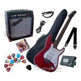 Guitarras Electricas Vorson,  Amplificador 10w Y Accesorios