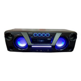 Parlante Winco W248 Portátil Con Bluetooth Negro 220v