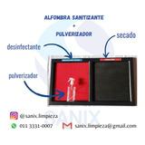 Alfombra Sanitizante + Secado + Pulverizador