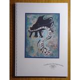 Cuaderno Pentagramado Artesanal A4 50 Hojas Jazz Art