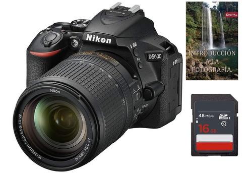 Nikon D5600 Af-s 18-140mm Vr Dslr Sd 16gb Impuesto Incluido