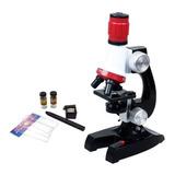 Microscopio Para Niños Con Led Uso Estudiantes