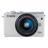 Canon Eos M100 15-45mm Is Stm Kit Sin Espejo Color Blanco
