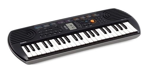 Teclado Organeta Casio Sa-77 Con Adaptador