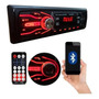 Radio Bluetooth Mp3 Player Usb Sd Som Carro Original