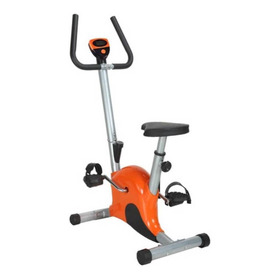 Bicicleta Fija Spinning Smart Tech St-bf1 Plateada Y Naranja
