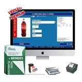 Sistema Pdv E Estoque Com Frente De Caixa Promoção-completo