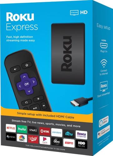 Roku Express 3930 Full Hd 1080p 512mb Smart Tv Box Hdmi