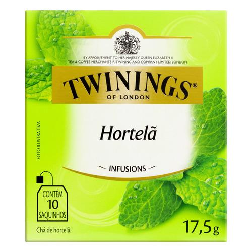 Chá Twinings Hortelã Em Sachê 17.5 G 10 U