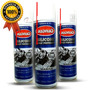 Silicone De Painel Spray Aroma Marine 3un Aerosol 300ml Cada Original