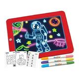 Pizarra Niños Magica Crayola Pizarra Led Juegos + Plumones