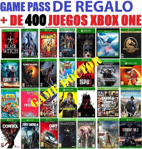 Juegos Xbox One Mega Pack Ultra Xl - Entrega Inmediata!!!