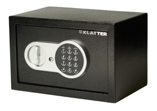 Caja Fuerte De Seguridad Digital 31cm X 20cm X 20cm Klatter