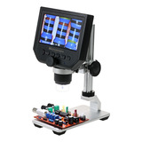 Kkmoon Microscopio 600x Con Pantalla Lcd De 4.3 In 3.6 Mp