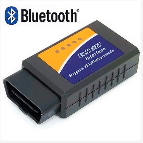 Scanner Elm327 Obd2 Multimarca - Torque Pro - Bluetooth - Cd