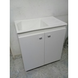 Mueble Lavadero Con Pileta Oferta 75x46x85