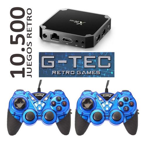 Consola Quadccore Retro G-tec 10.000 Jgos 30 Emuladores