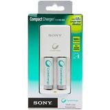 Cargador Sony Cycle Energy + 2 Pilas Recargables Aa 1000mah- Importadora Fotografica - Distribuidor Mayorista Sony
