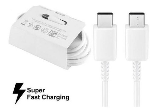 Cable Samsung Tipo C / C Súper Fast Charger Original