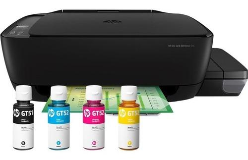 Impresora Sistema Continuo Tinta Hp Ink Tank 415 - Wifi