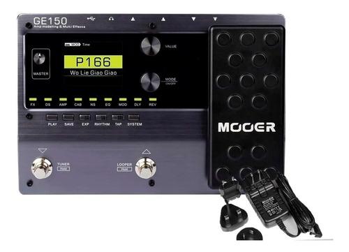 Pedaleira Mooer Multi Efeitos Para Guitarra Ge150