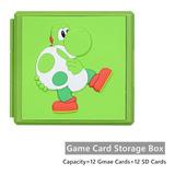 Caja Portajuegos Nintendo Switch, 12 Juegos Y 12 Sd No.11