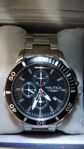Relógio De Pulso Nautica Original - Modelo A20507g