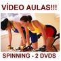 Spinning!!! Aulas De Spinning 2 Dvds! Receba Com Segurança Original