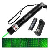 Puntero Laser 303 Verde Recargable Profesional Boliches Humo
