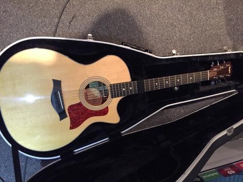 Guitarra Electroacústica Taylor 314ce Natural Americana