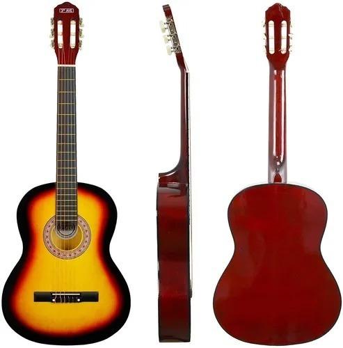 Guitarra Clásica Criolla Española Madera Con Funda Mli