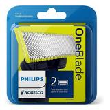 X2 Cuchillas 100% Originales Oneblade Philips Norelco Ya!!!