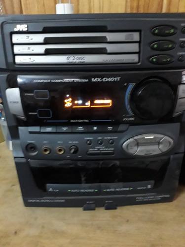 Equipo De Musica Minicomponente Jvc Mx-d401t A Reparar