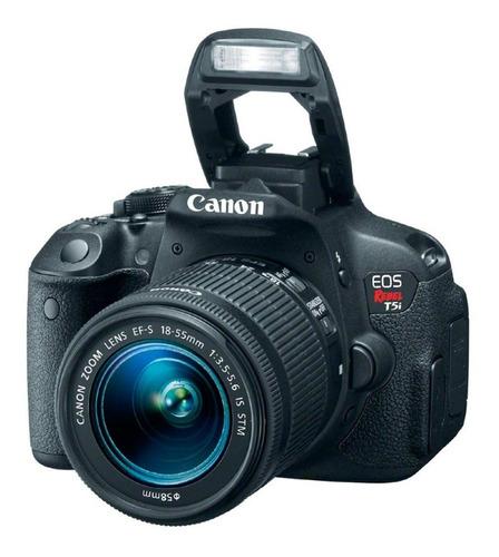 Cámara Canon Eos Rebel T5i + 18-55mm 3 Mil Disparos Garantía