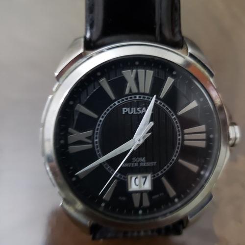 Reloj Pulsar Fechador Sumergible Cierre Rosca Japones
