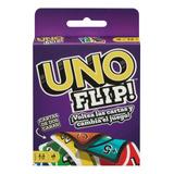 Uno Flip! Juego De Cartas Familiar