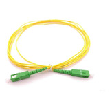 Cable Patch Cord Fibra Optica Sc/apc-sc/upc 5mts