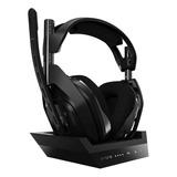 Audífonos Gamer Inalámbricos Astro A50 Negro Y Gris