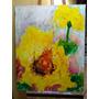 Pintura Floral De Adão Mestriner Original