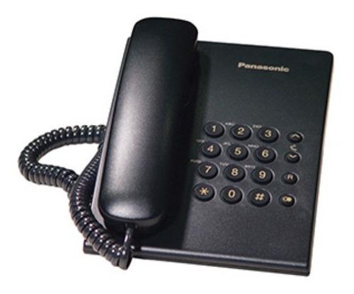 Telefono Sobremesa Panasonic T500 Negro - Revogames
