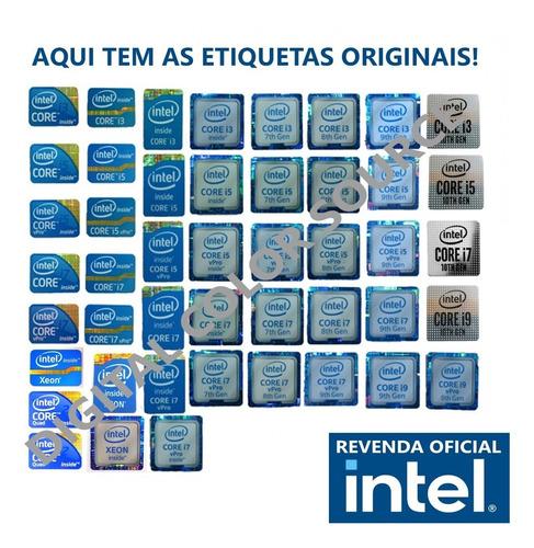 Original Selo Adesivo Intel®