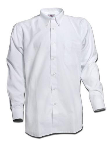Camisa Oxford Classic Hombre Regular Fit