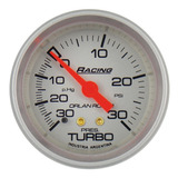 Manovacuómetro Presión Turbo Mecánico Orlan Rober Racing 52