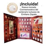 Album Billetes Y Monedas  De 5, 10, 20 Pesos  Conmemorativos