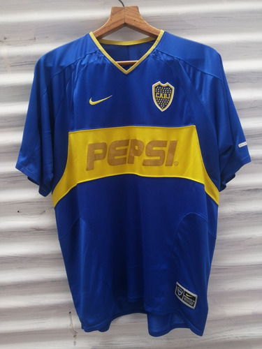 Camiseta Boca Juniors Nike 2004